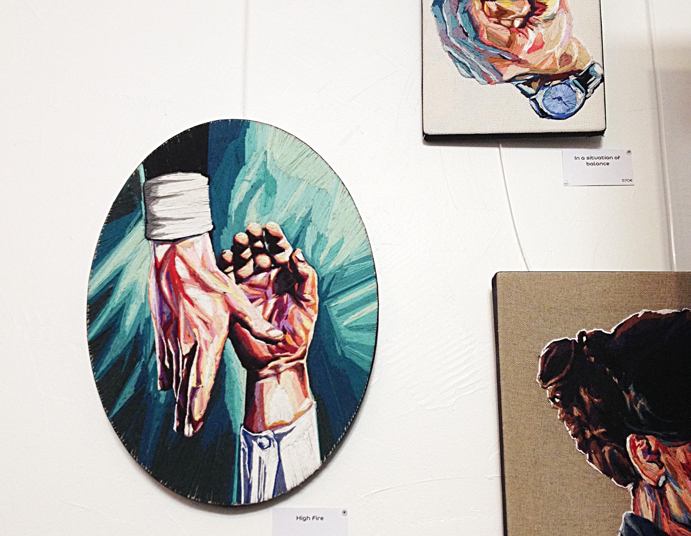 Exposition de Julie Sarloutte à la galerie Chromosome A