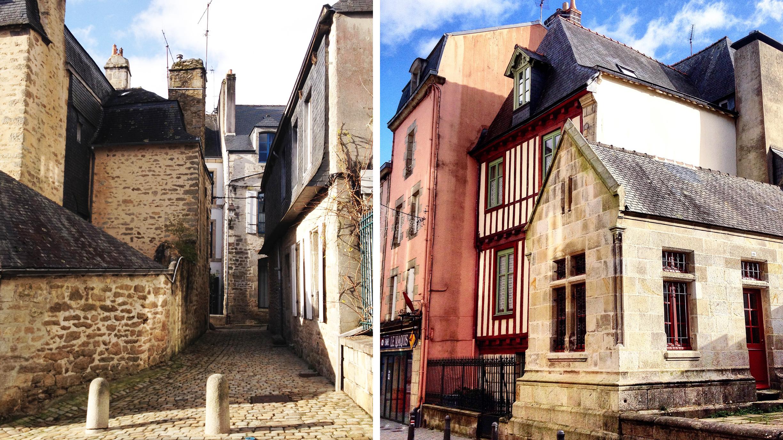petites rues de Quimper
