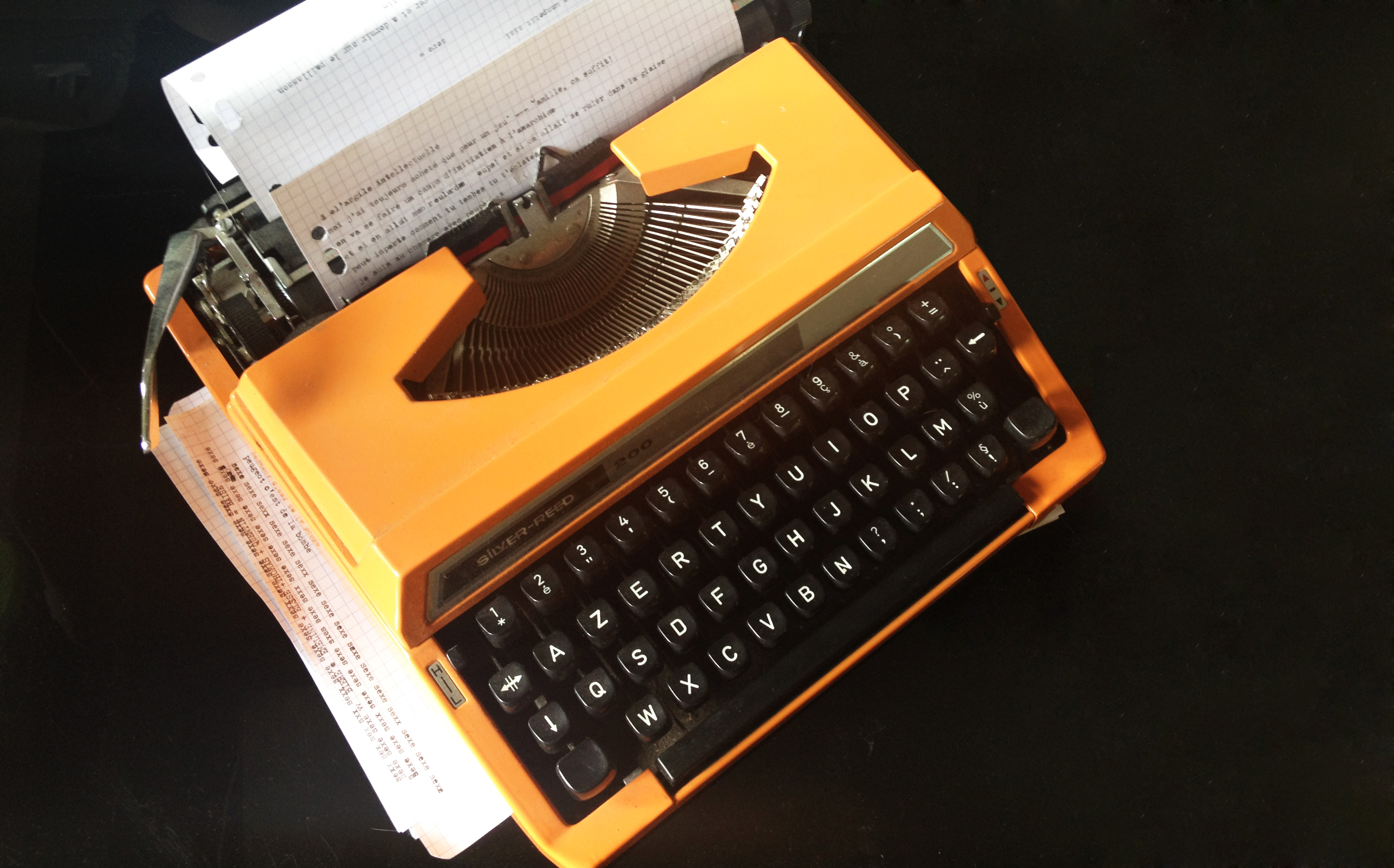 La machine à écrire de ma grand-mère