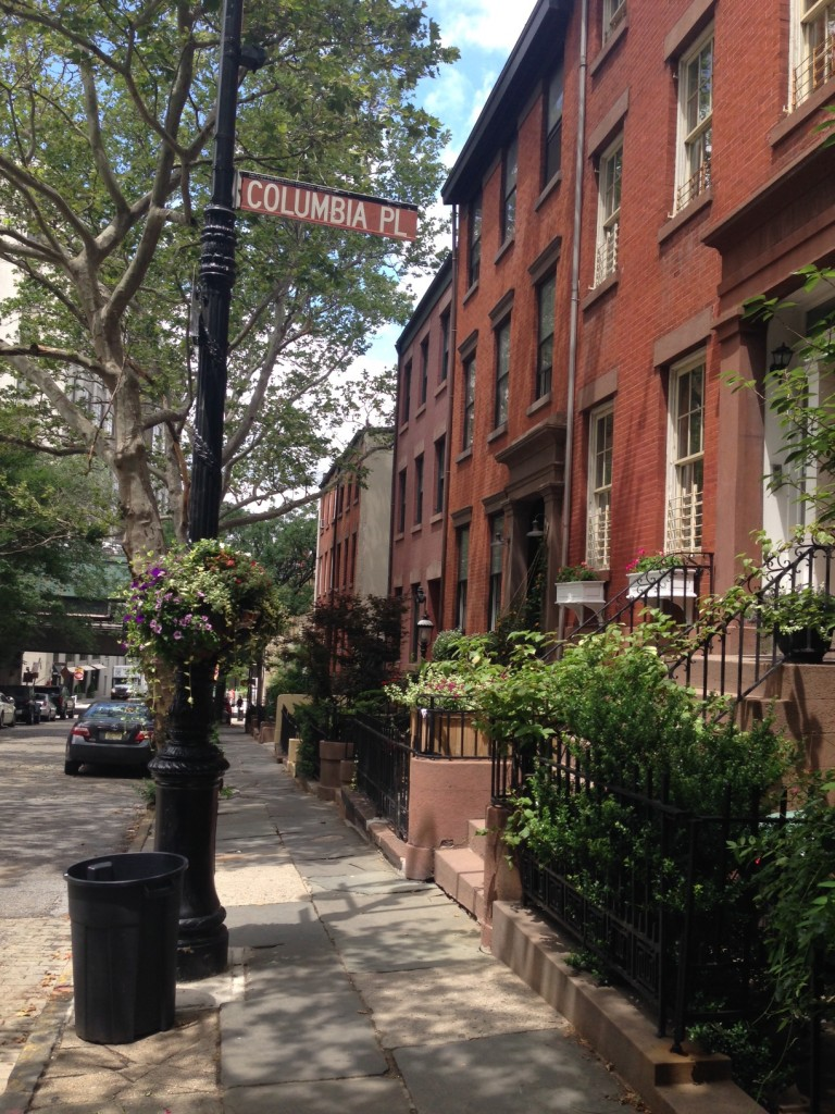 Dans les rues de Brooklyn Heights