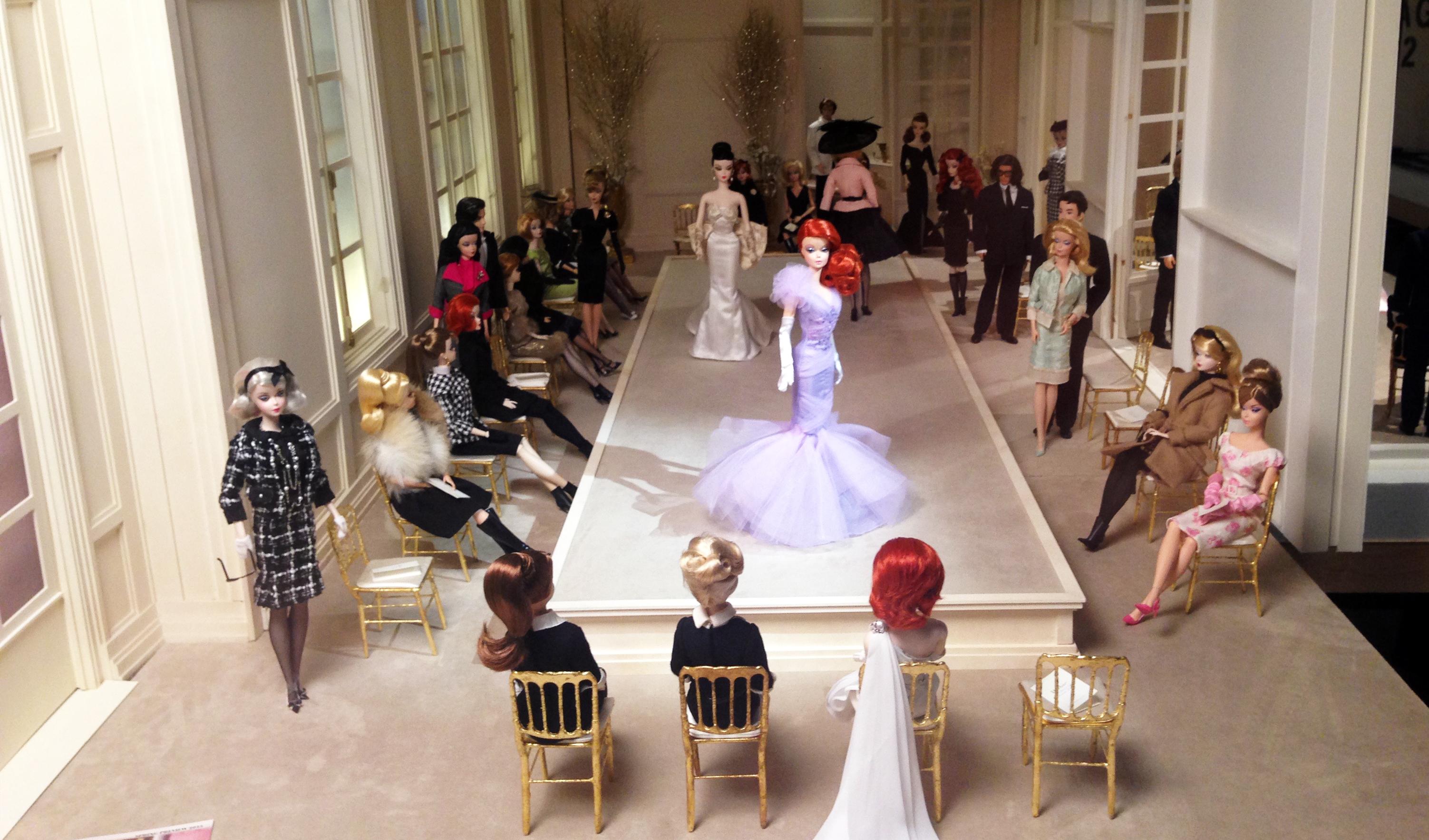 Barbie à la pointe de la mode