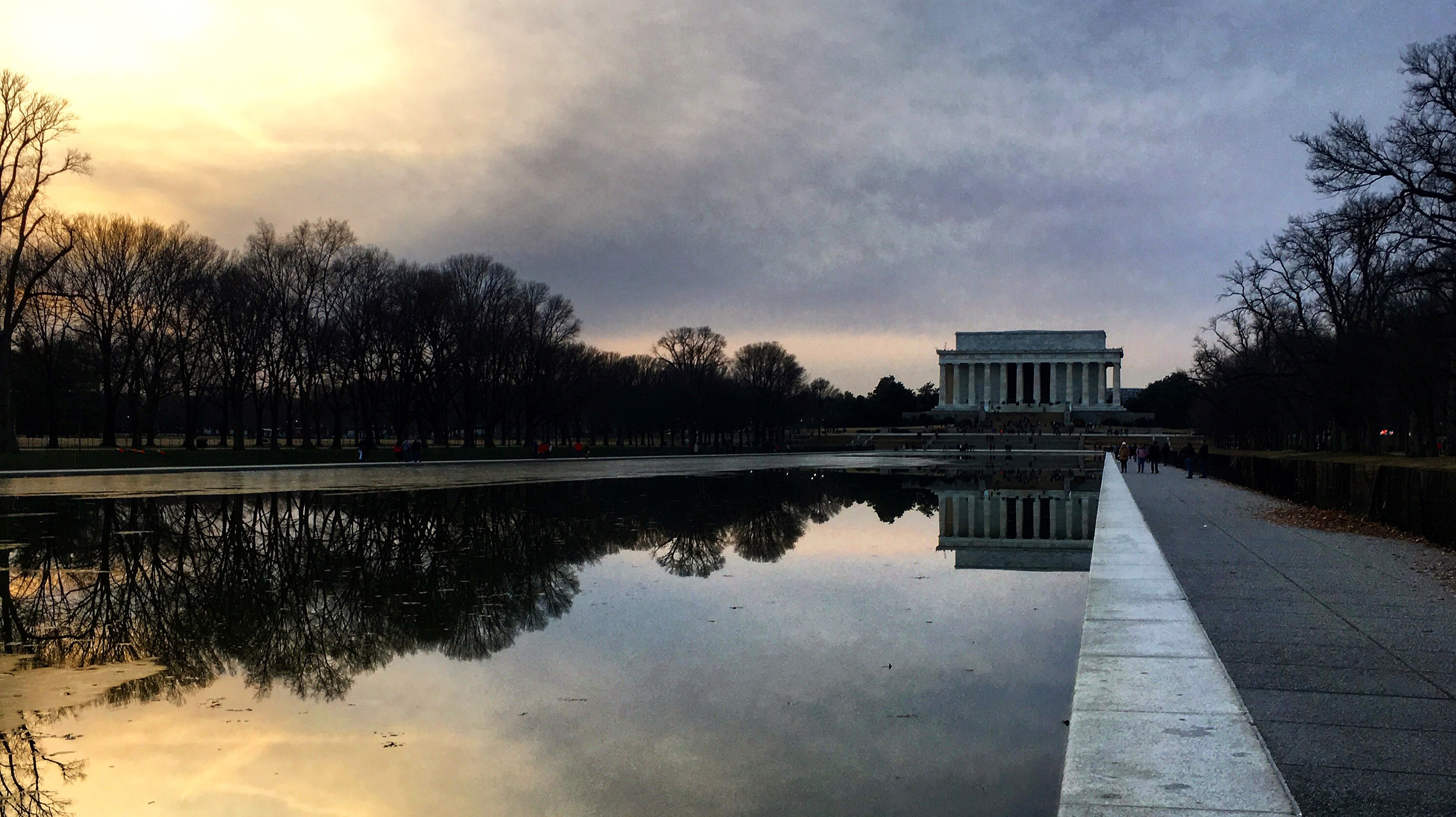 L'hiver à Washington