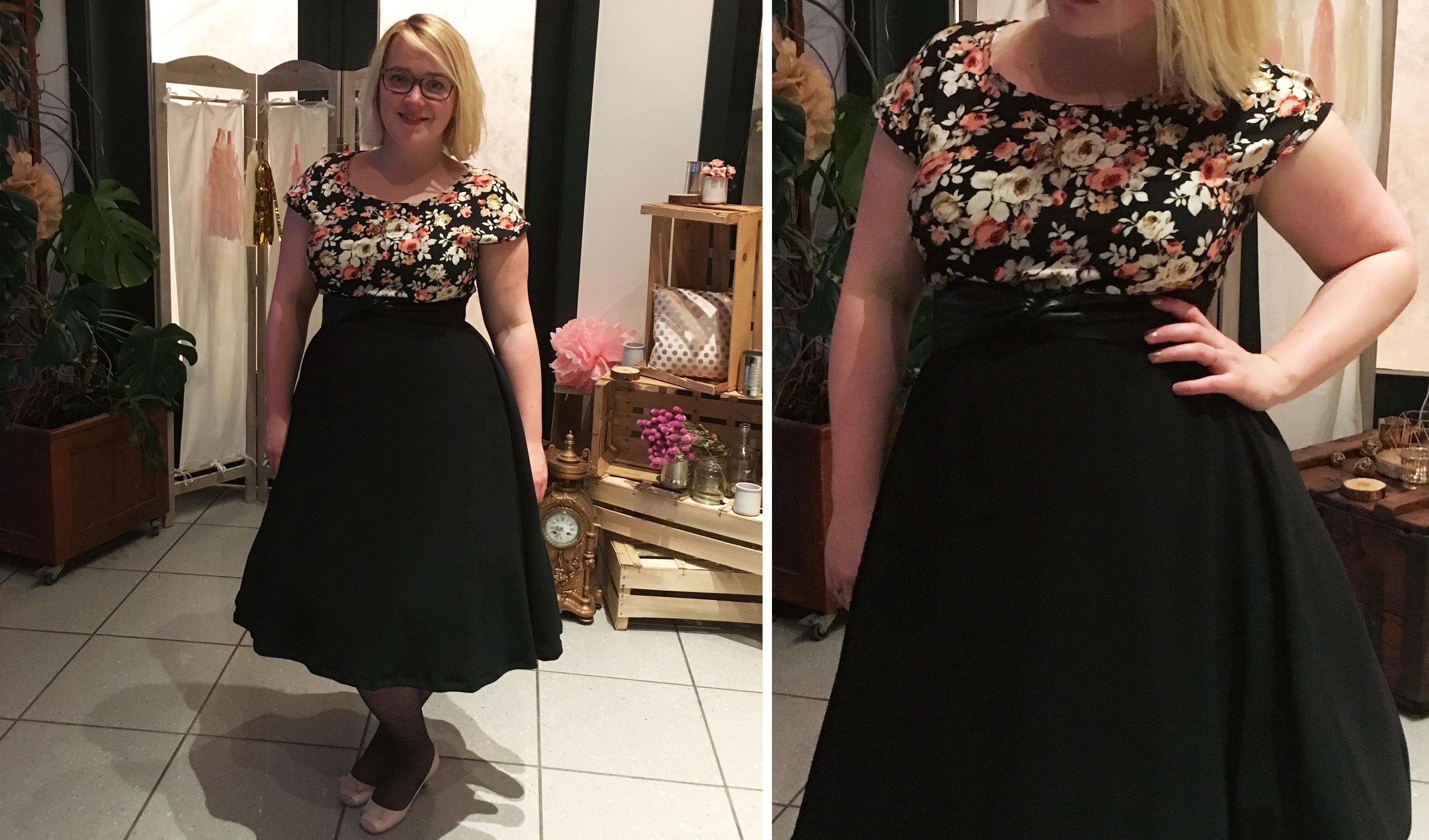 Et voilà le résultat de ma robe Viktoria
