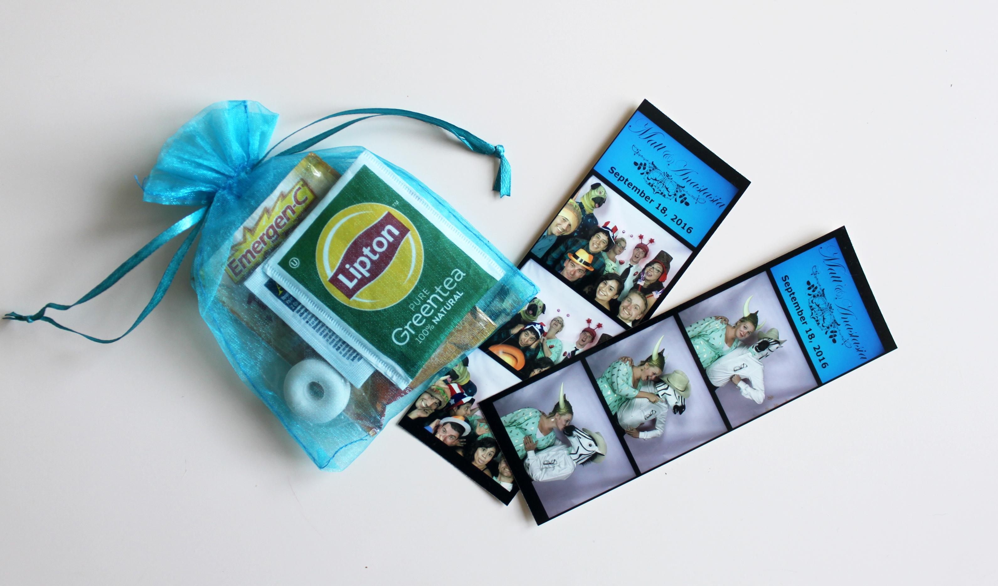 Kit anti-gueule de bois et photobooth