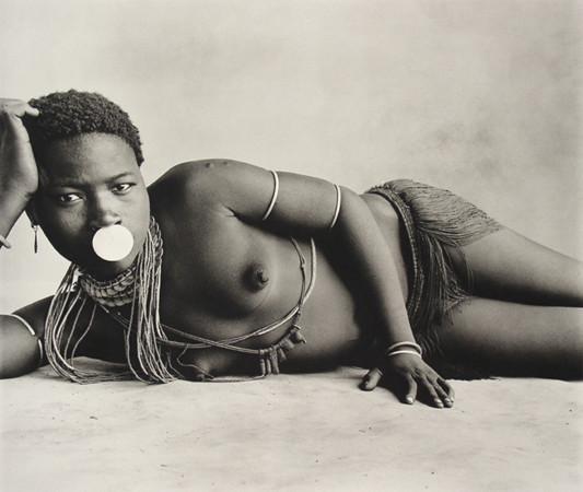 Portrait d'une femme au Cameroun