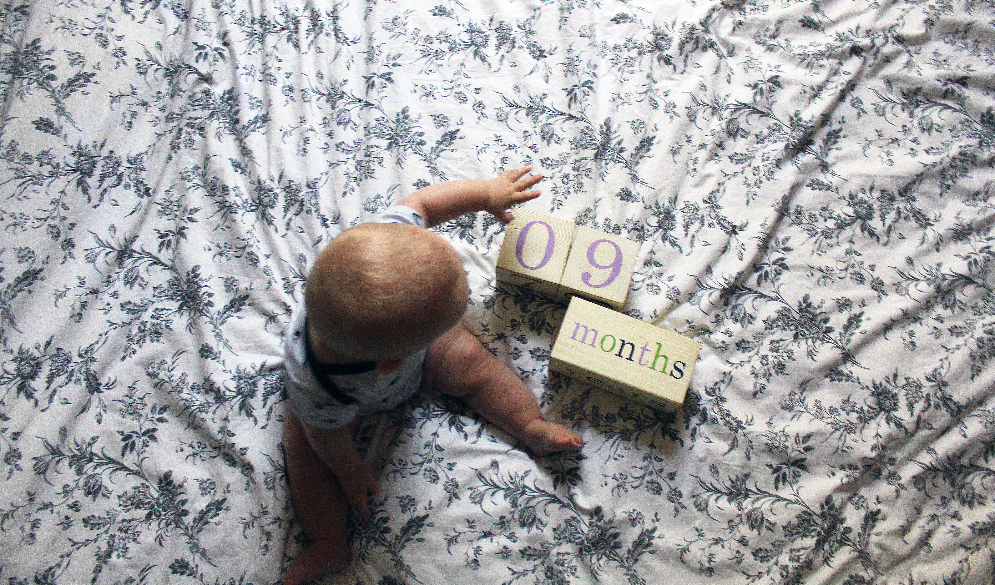 Mon grand bébé a 9 mois
