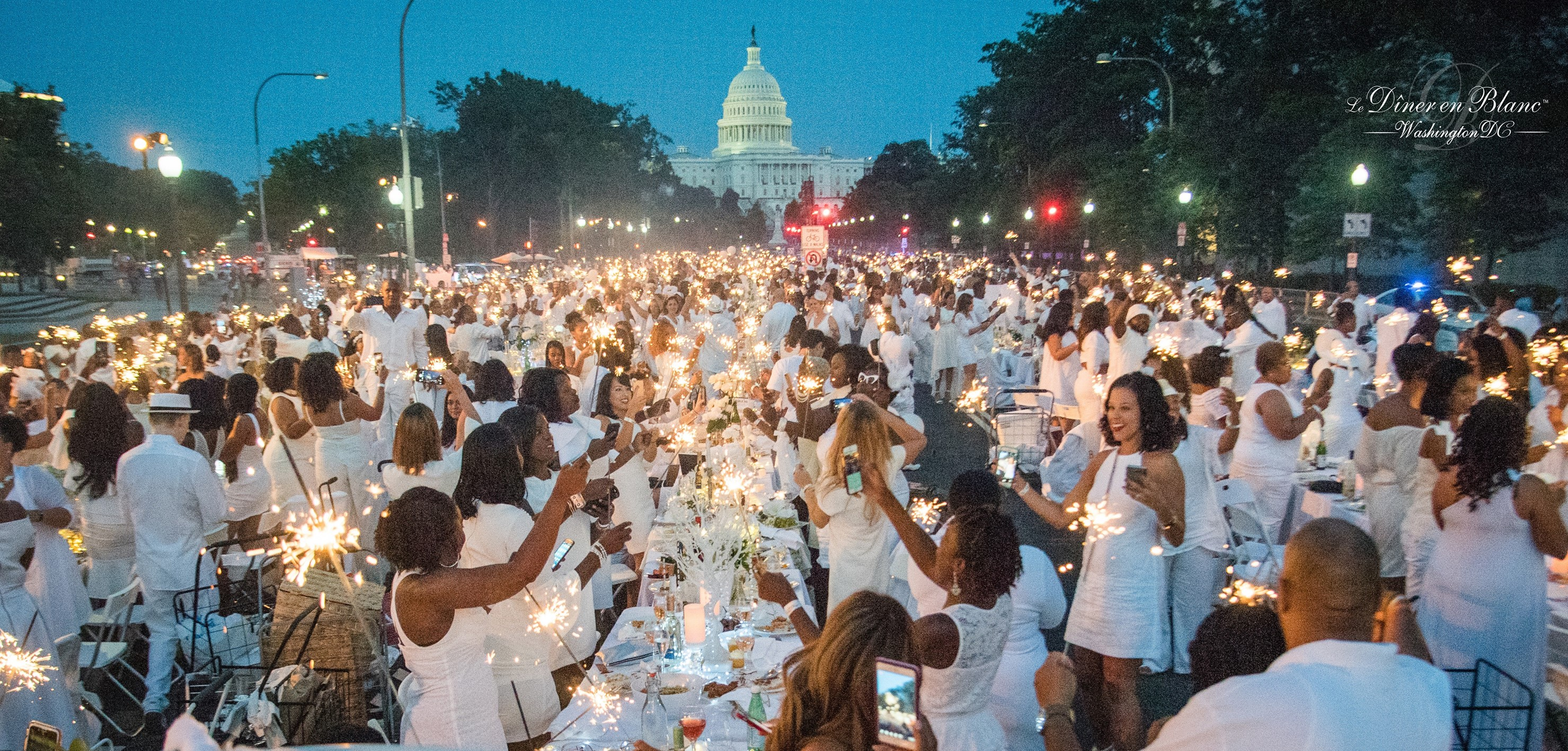 Diner en Blanc Washington DC