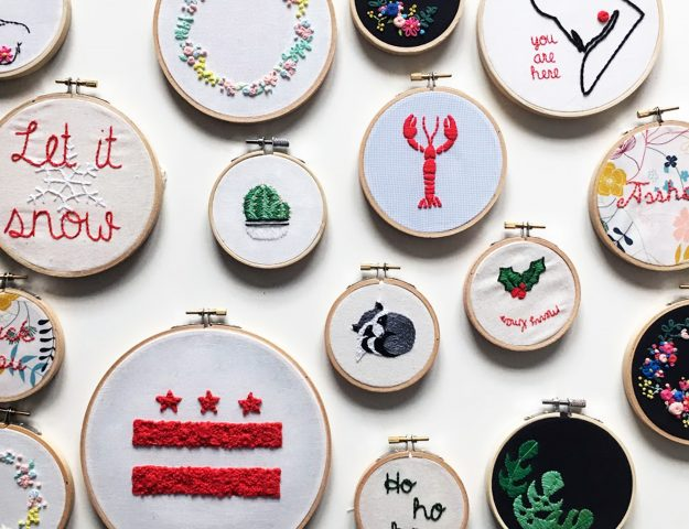 Faire de jolies finitions - Broderie