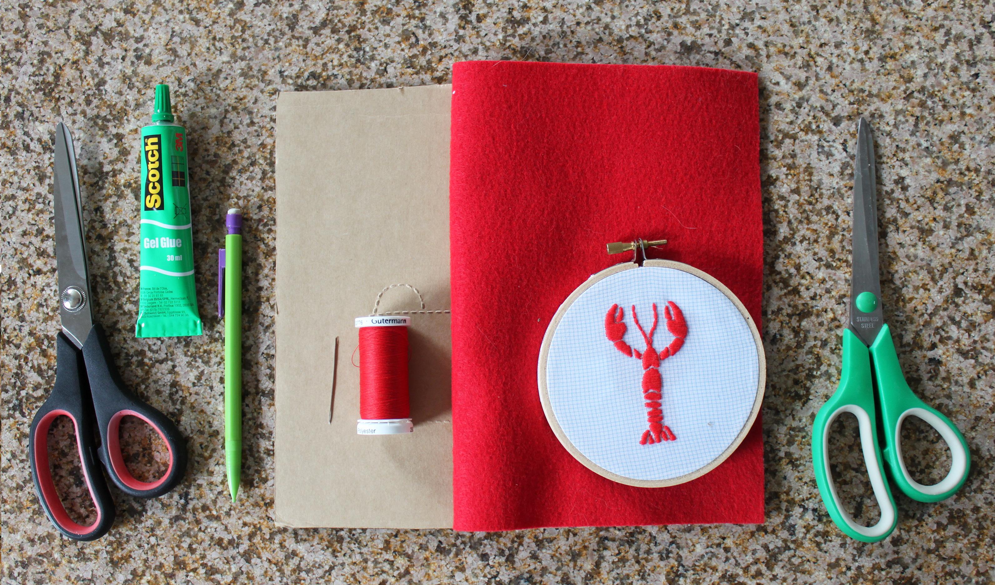 Version 3 - feutrine et carton