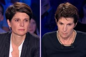 Sandrine Rousseau et Christine Angot