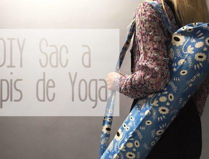 DIY Sac à Tapis de Yoga