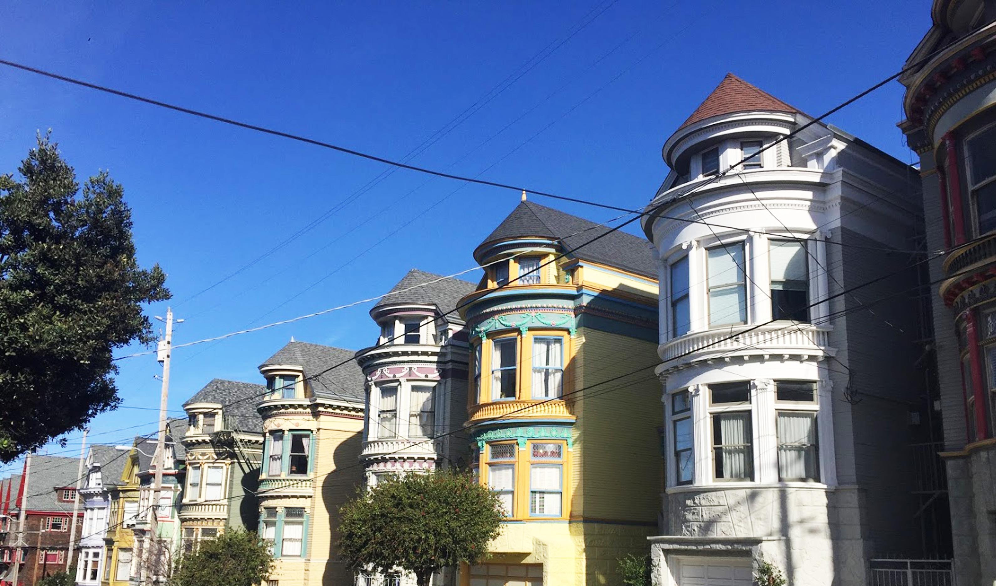 Les maisons de San Francisco