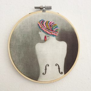 Violon d'Ingres embroidery