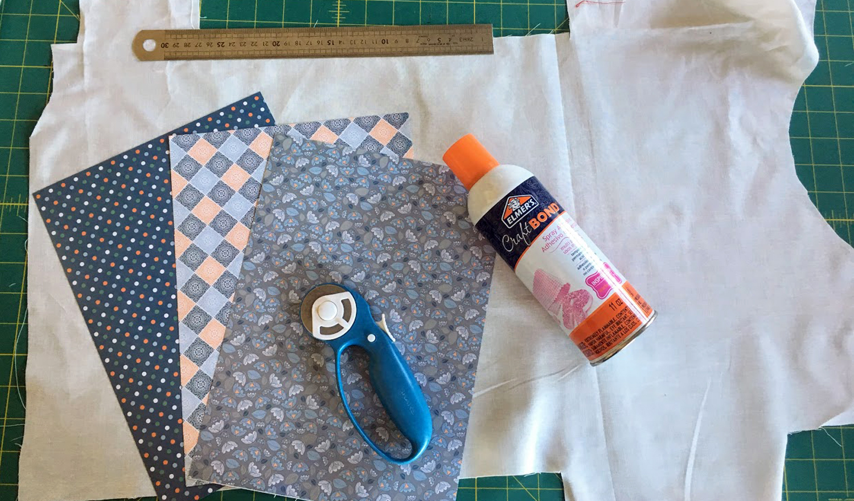 impression sur tissu, matériel nécessaire