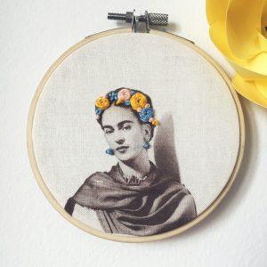 Frida blue-yellow - S