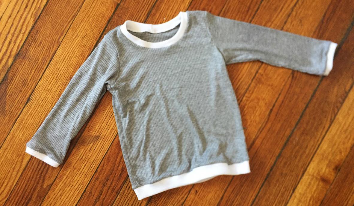 Un petit t-shirt parfait pour bébé