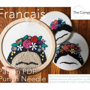 Frida Punch Needle PDF fr