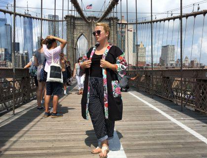 Frida et moi, OKLM sur le pont de Brooklyn