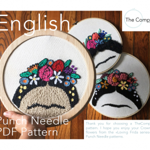 Punch Needle PDF Frida Engl